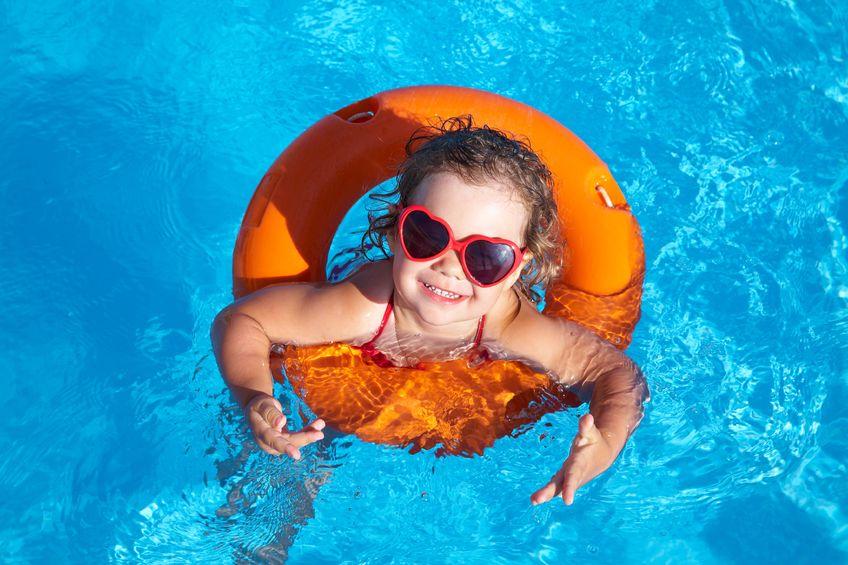 Image Pool Little Girl Orange